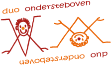 logo theater duo-ondersteboven